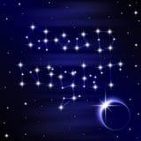 Ilustração da boa noite Foto de Stock