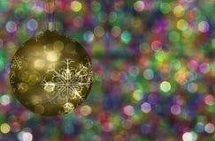 Ilustração da bola da árvore de Natal ilustração do vetor