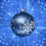 Ilustração da bola da árvore de Natal ilustração royalty free