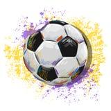 Ilustração da bola de futebol Fotos de Stock Royalty Free