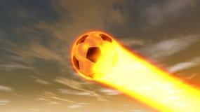 Ilustração da bola do futebol Foto de Stock
