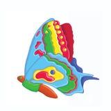 Ilustração da borboleta Foto de Stock Royalty Free