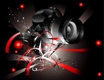 Ilustração da câmera Imagens de Stock