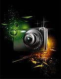 Ilustração da câmera Imagens de Stock Royalty Free