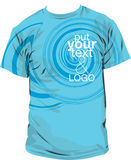 Ilustração da camisa de T Fotos de Stock