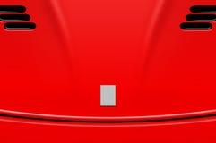 Ilustração da capa do carro de esportes fotos de stock royalty free