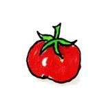 Ilustração da carta branca do tomate Fotografia de Stock Royalty Free