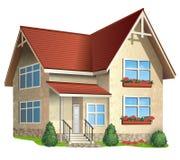 Ilustração da casa Fotografia de Stock