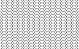Ilustração da cerca do elo de corrente isolada no fundo branco Vector a barreira da prisão, elemento fixado do gráfico da proprie ilustração do vetor