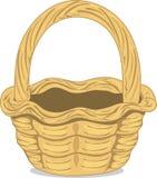 Ilustração da cesta de vime ilustração royalty free