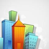 Construção colorida Imagem de Stock