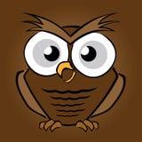 Ilustração da coruja dos desenhos animados Imagem de Stock Royalty Free