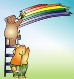 Ilustração da criança - 2 Imagens de Stock Royalty Free