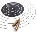 Ilustração da escala de tiro e do conceito 3d do alvo Imagem de Stock Royalty Free