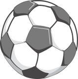 Ilustração da esfera de futebol Foto de Stock