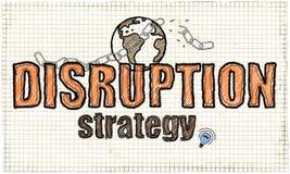 Ilustração da estratégia do rompimento ilustração do vetor