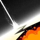 Ilustração da explosão ilustração stock