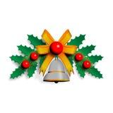 Ilustração da festão de Christmass Fotografia de Stock Royalty Free