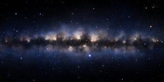 Ilustração da galáxia ilustração stock