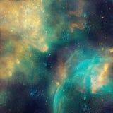 A ilustração da galáxia, fundo com estrelas, nebulosa do espaço, cosmos nubla-se ilustração royalty free