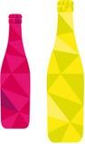 Ilustração da garrafa de cerveja Fotografia de Stock