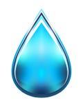 Ilustração da gota da água Fotografia de Stock