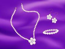 Ilustração da jóia da pérola Ilustração do Vetor