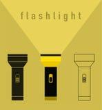 Ilustração da lanterna elétrica Imagem de Stock Royalty Free