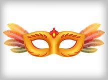Ilustração da máscara do carnaval ilustração stock