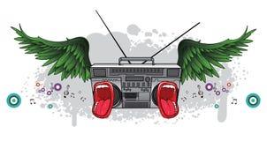 Ilustração da música Imagens de Stock Royalty Free