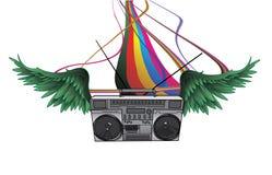Ilustração da música Imagem de Stock Royalty Free