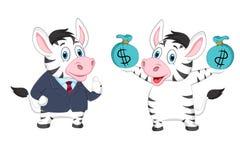 Ilustração da mascote do asno Imagens de Stock Royalty Free