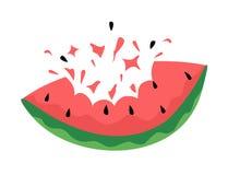 Ilustração da melancia ilustração stock