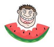 Ilustração da melancia ilustração royalty free