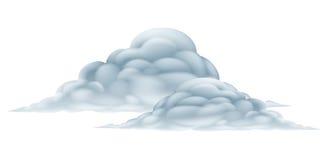 Ilustração da nuvem Fotografia de Stock Royalty Free