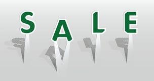 Ilustração da palavra da venda Imagens de Stock