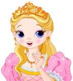 Princesa bonita Foto de Stock Royalty Free