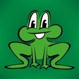 Ilustração da rã dos desenhos animados Imagem de Stock Royalty Free