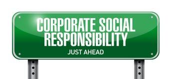 ilustração da responsabilidade social empresarial Imagens de Stock Royalty Free