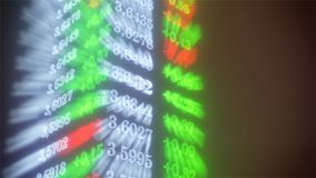 ilustração da taxa de câmbio 3d do dólar Fotos de Stock Royalty Free