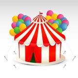 Ilustração da tenda do circus Fotografia de Stock