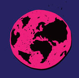 Ilustração da terra do planeta Fotos de Stock