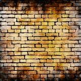 Ilustração da textura da parede de tijolo do vetor Imagem de Stock