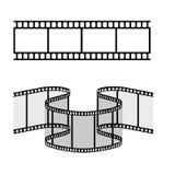Ilustração da tira do filme Imagem de Stock