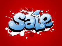 Ilustração da venda do Natal. Fotos de Stock Royalty Free