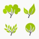 Ilustração das árvores Foto de Stock Royalty Free