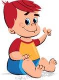A ilustração das crianças do bebê Foto de Stock