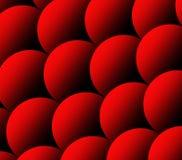 Ilustração das escalas de peixes Teste padrão vermelho das escalas da carpa Fundo animal abstrato Textura do Squama abstraia o fu fotos de stock royalty free