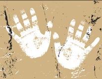 Ilustração das mãos Fotos de Stock