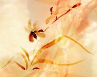 Ilustração das orquídeas ilustração do vetor